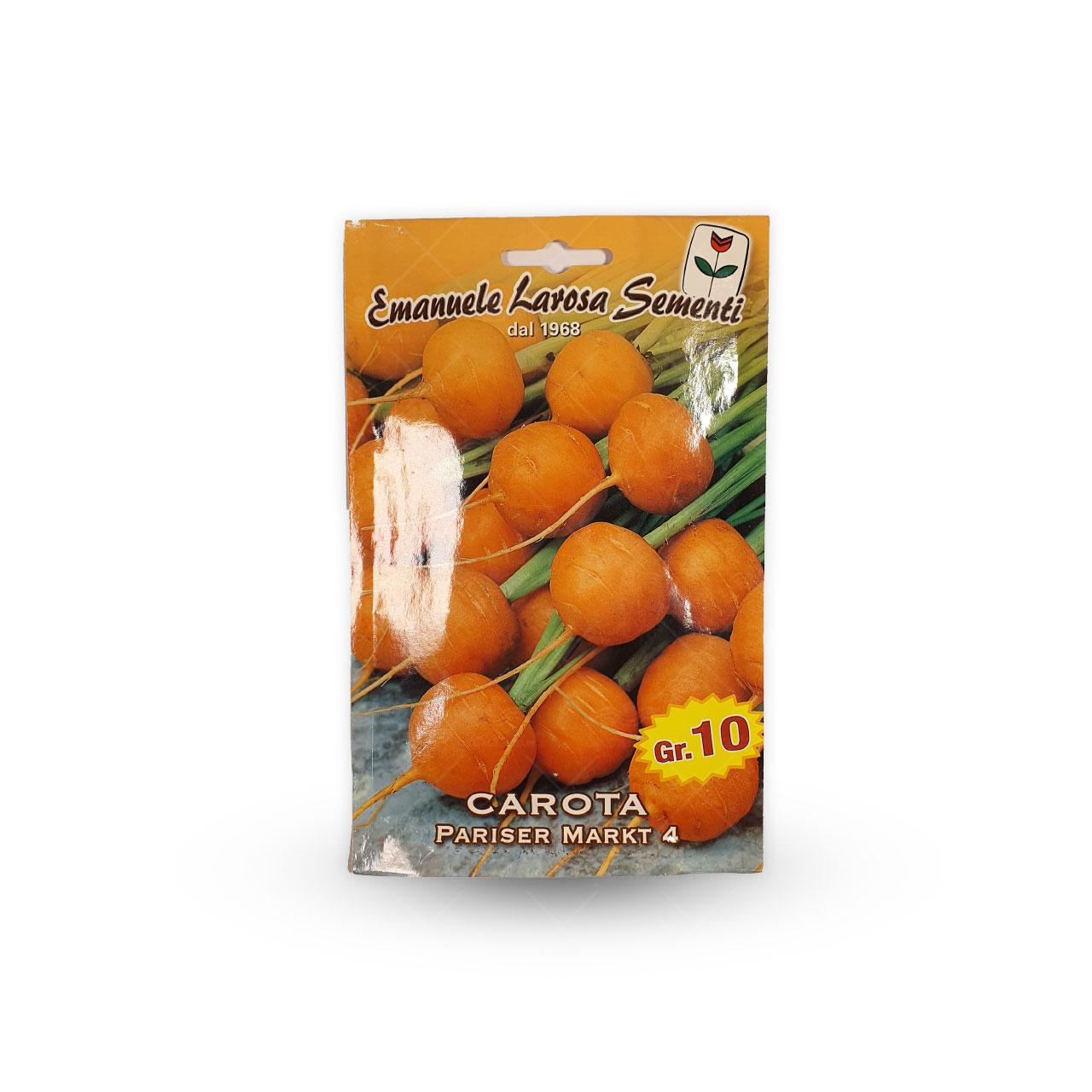 بذر هویج نارنجی گرد ایتالیایی