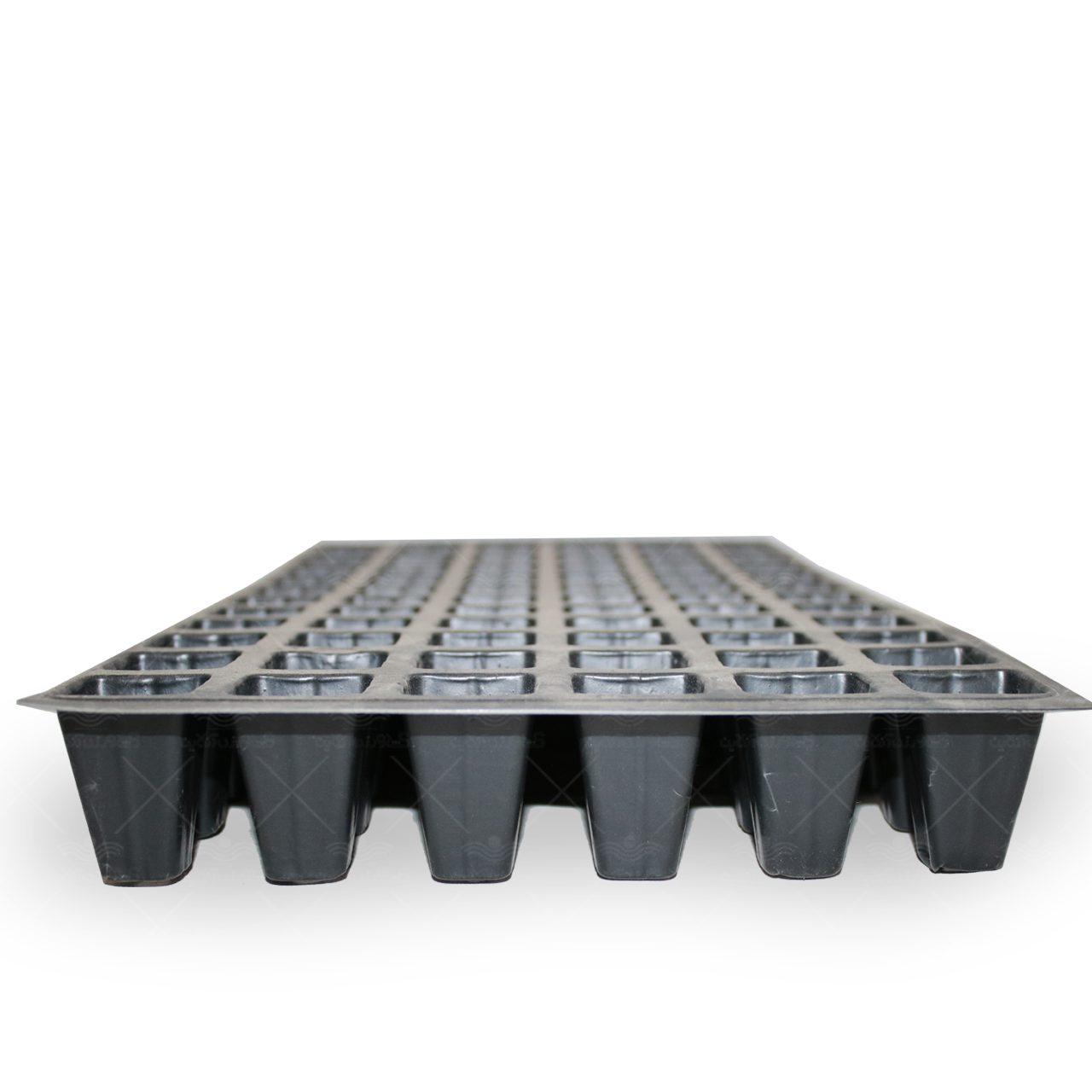 سینی نشاء یکبار مصرف 72 حفره بدون لبه