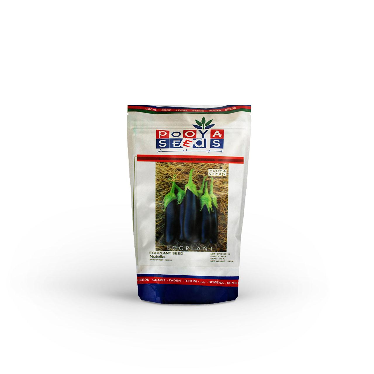 بذر بادمجان قلمی نوتلا پویاسید 100 گرمی