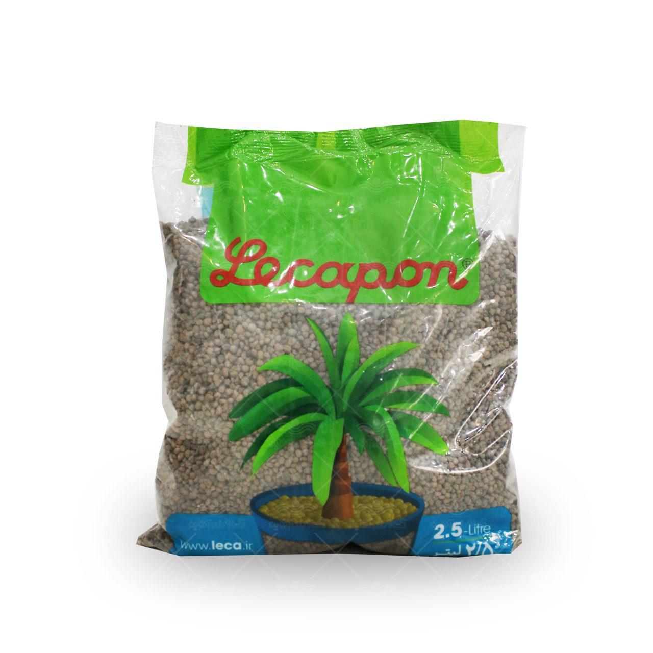 خاک لیکاپون دو و نیم لیتری خانگی سبزینه
