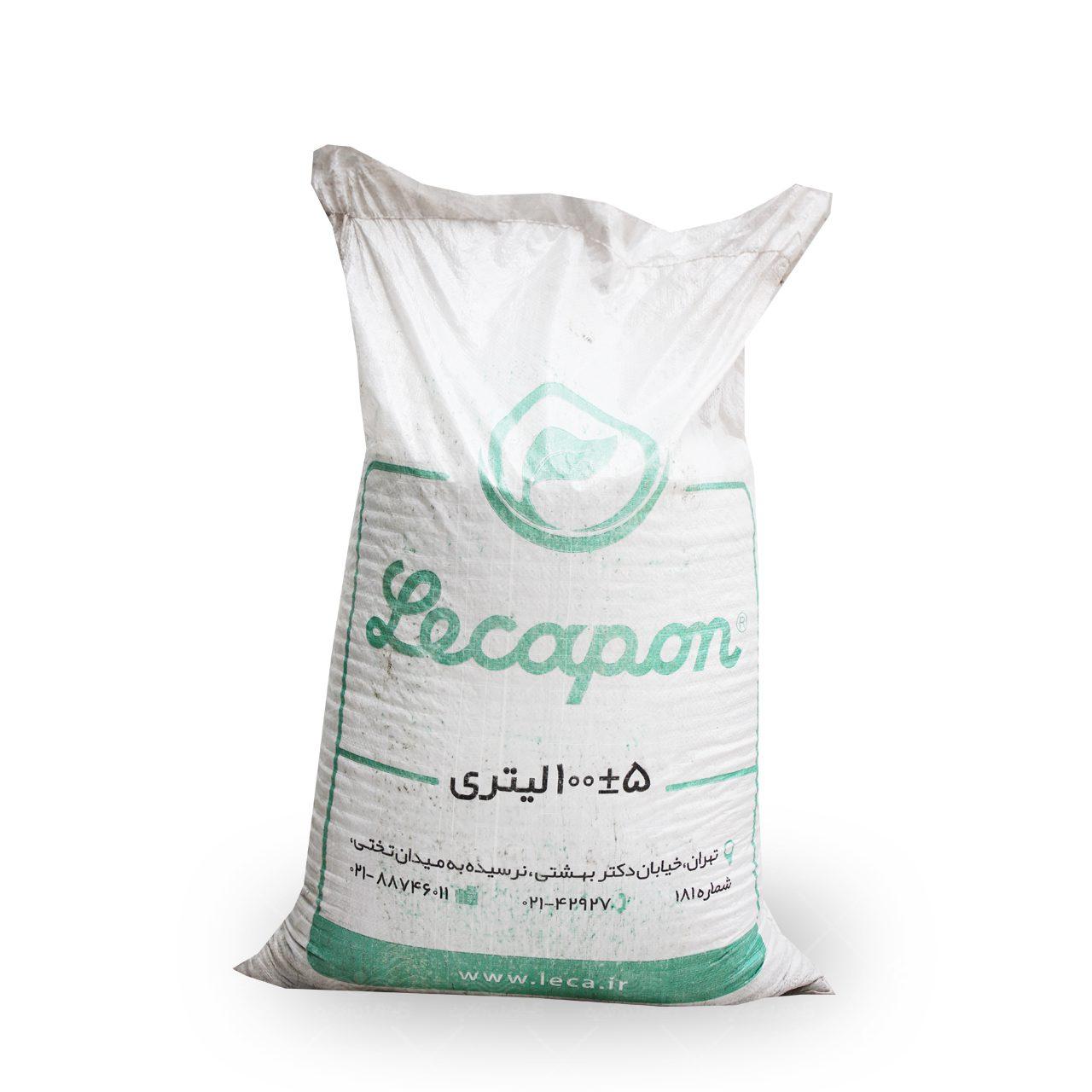 لیکاپون دانه متوسط 100 لیتری